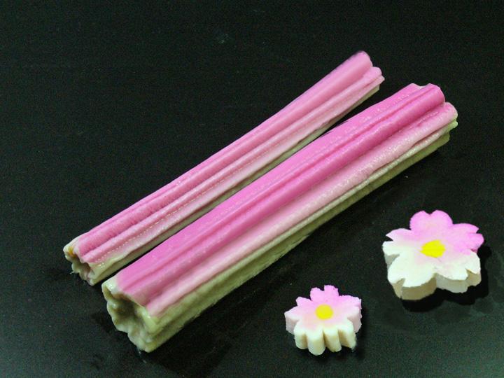 冷凍生麩,春,彩り,椀種,花麩