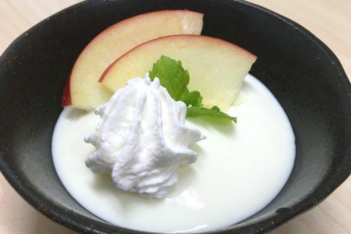 りんご,乳製品,ビュッフェ用,プリン原液