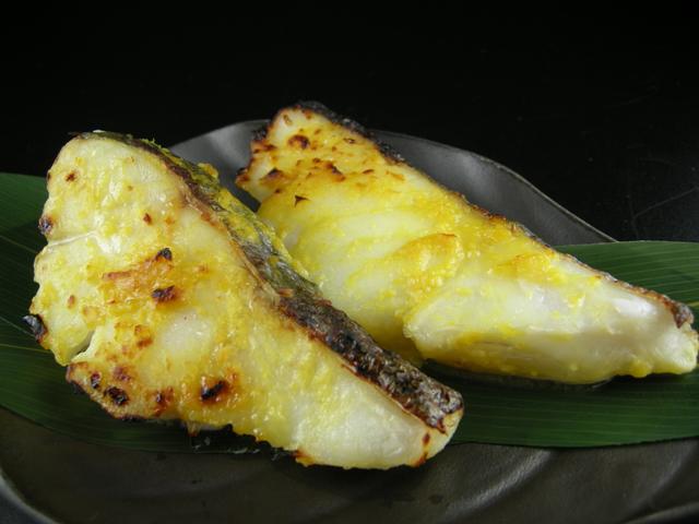 鱈,柚子,西京焼