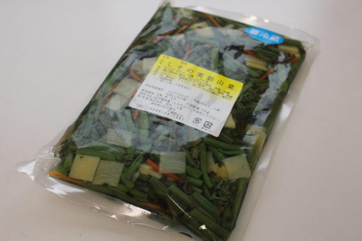 味付山菜,料亭,山菜水煮,春